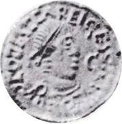 Tremissis (Audeca) – obverse
