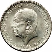 5 Kronor - Gustaf VI Adolf (Constitutional Reform) – obverse