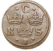 ¼ Öre - Kristina (Avesta mint) -  obverse
