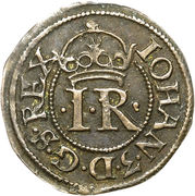 2 Penningar - Johan III (Type II) – obverse