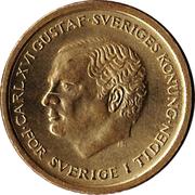10 Kronor - Carl XVI Gustaf -  obverse