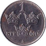 1 Öre - Gustaf V -  reverse