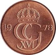 5 Öre - Carl XVI Gustaf -  obverse
