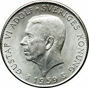 5 Kronor - Gustaf VI Adolf (Constitution) – obverse