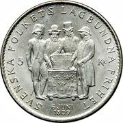 5 Kronor - Gustaf VI Adolf (Constitution) – reverse