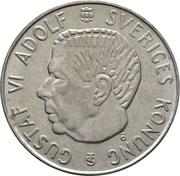 5 Kronor - Gustaf VI Adolf – obverse