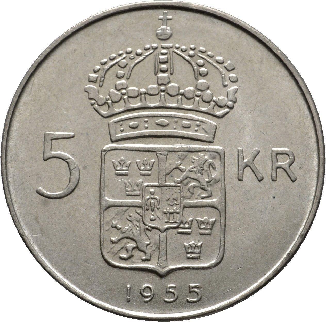 5 Kronor Gustaf Vi Adolf