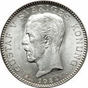 1 Krona - Gustaf V -  obverse