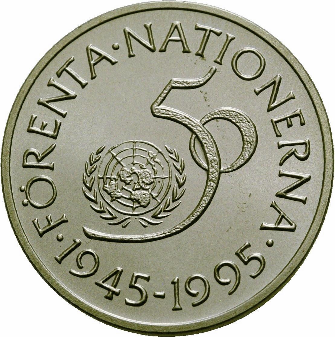 5 Kronor Carl Xvi Gustaf United Nations