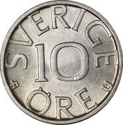 10 Öre - Carl XVI Gustaf -  reverse