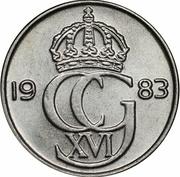 25 Öre - Carl XVI Gustaf -  obverse