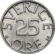 25 Öre - Carl XVI Gustaf -  reverse