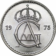 50 Öre - Gustaf VI Adolf -  obverse