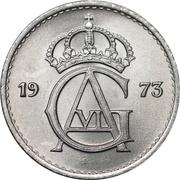 25 Öre - Gustaf VI Adolf -  obverse