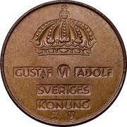5 Öre - Gustaf VI Adolf -  obverse