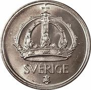50 Öre - Gustaf V -  obverse