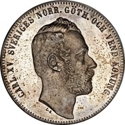 4 Riksdaler Riksmynt - Carl XV – obverse