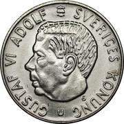 1 Krona - Gustaf VI Adolf -  obverse