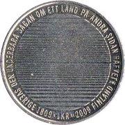 1 Krona - Carl XVI Gustaf (Separation from Finland) -  reverse