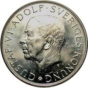 10 Kronor - Gustaf VI Adolf (Birthday) -  obverse