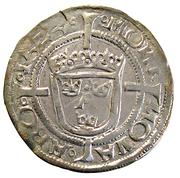 1 Öre - Gustav Vasa (Åbo mint; Type I) – reverse