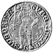 ½ Gyllen - Gustav Vasa (Stockholm mint) – obverse