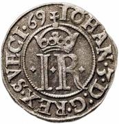 ½ Öre - Johan III (Type I) – obverse
