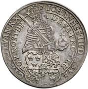2 Daler - Johann III (Coronation) – obverse