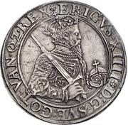 2 Daler - Johann III (Coronation) – reverse