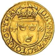 1 Krongyllen - Johan III – reverse