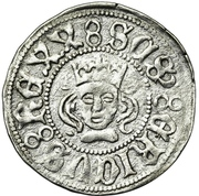 Örtug - Sten Sture the Elder (Regency; Stockholm mynt) – obverse