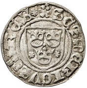 Örtug - Sten Sture the Elder (Regency; Västerås mynt) – obverse