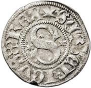 ½ Örtug - Sten Sture the Elder (Regency; Stockholm mynt) – obverse