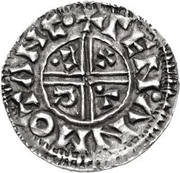 1 Denar - Olof Skötkonung (Sigtuna; struck by Leofman) – reverse