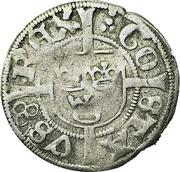 1 Örtug - Gustav Vasa (Stockholm mint; type II) – obverse