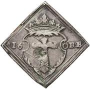 """16 Öre """"Klippingar"""" - Gustav Vasa (Type II; Åbo mint) – obverse"""