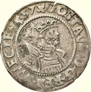 ½ Mark - Gustav Vasa (Stockholm mint; bust type Ib) – obverse
