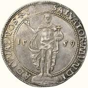 1 Daler - Gustav Vasa (Stockholm mint) – reverse