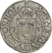 ½ Öre - Johan III (Type III) – reverse