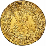 2 Rosenoble - Johan III (Type II) – obverse