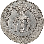 ½ Öre - Johan III (Type IV) – obverse