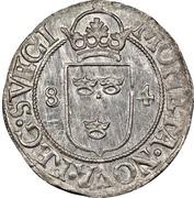 ½ Öre - Johan III (Type IV) – reverse