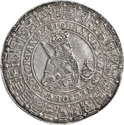 2 Daler - Johan III – obverse