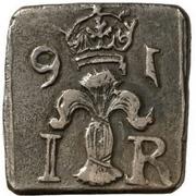 """1 Mark/8 Öre """"Klippingar"""" - Johan III (Type II) – obverse"""
