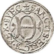 1 Örtug - Johan III (Stockholm mint; Type II) – obverse