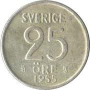 25 Öre - Gustaf VI Adolf – reverse