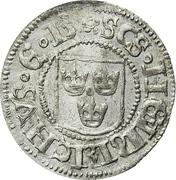Örtug - Gustav Vasa – obverse