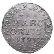 1 Mark - Sigismund of Poland (Type I) – reverse
