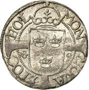 1 Örtug - Johan III (Uppsala mint) – reverse