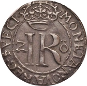 2 Öre - Johan III (Type V) – reverse